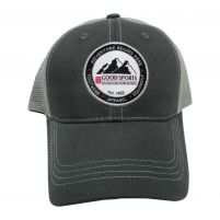 Good Sports Grey Mist Trucker Cap - Graphite