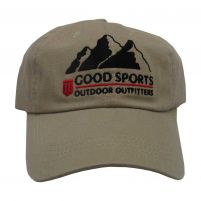 Good Sports Twill 6-Panel cap - Vintage Khaki