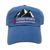 Good Sports Twill 6-Panel cap - College Blue