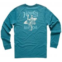 Howler Brothers Rodeo Ostrich Long Sleeve T-Shirt - Men's