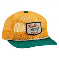 Howler Brothers Howler Club Unstructured Snapback Cap - Gold/Green