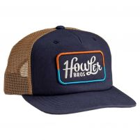Howler Brothers Howler Classic Snapback Cap - Navy/Old Gold