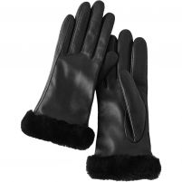 UGG Classic Leather Tech Gloves - Women's
