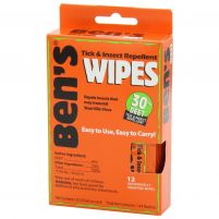 Adventure Medical Kits Bens 30% DEET Tick and Insect Repellent Wipes 12 per Box