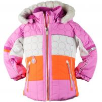 Obermeyer Lush Ski Jacket w/ Faux Fur Trim - Girl's