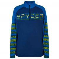Spyder Peak Zip T-Neck - Boys