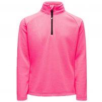Spyder Speed Fleece Zip T-Neck Pullover - Girls'
