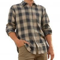 Purnell Vintage Plaid Long Sleeve Shirt - Men's