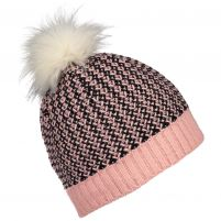 Obermeyer Tucsan Faux Fur Pom Beanie - Teen Girls
