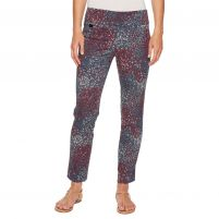 Lisette Spring Floral Print Ankle Pants - Women's