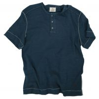 True Grit Royal Slub Crew Henley - Men's