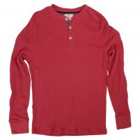 True Grit Soft Slub Thermal Henley - Men's