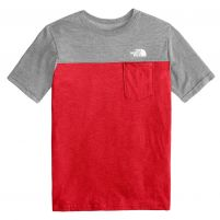 The North Face Tri-Blend Pocket Tee - Boy's