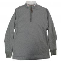 True Grit Bonded Heather Fleece Quarter-Zip Pullover - Men's