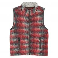 True Grit Melange Blanket Double Up Vest - Boy's