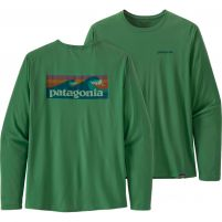 Patagonia Long-Sleeved Capilene Cool Daily Graphic Shirt - Men's