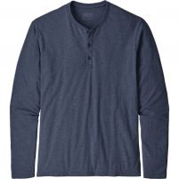 Patagonia Long Sleeve Organic Cotton Lightweight Henley Pullover - Men's