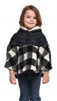 Obermeyer Minuet Fleece Cape - Girl's