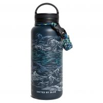 United by Blue Waves Stainless Steel Bottle