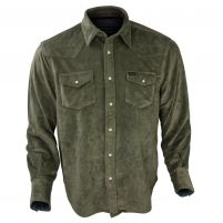 True Grit Sueded Solano Pocket Ranch Shirt - Men's