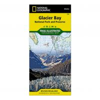 National Geographic Glacier Bay Map