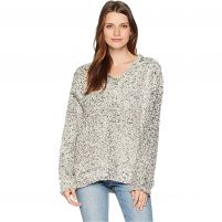 Dylan Frosty Tipped Pile V-Neck - Women's