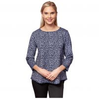 Sno Skins Jacquard Hi-Low Ballet Top - Women's