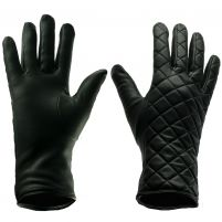 Mitchies Matchings Quilted Gloves - Women's