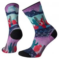 Smartwool PhD Outdoor Light Print Crew Hiking Socks - Women's