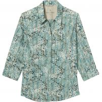Royal Robbins Expedition II Print 3/4 Sleeve Shirt - Women's