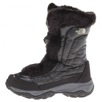 The North Face Nuptse II Fur Boots - Girl's
