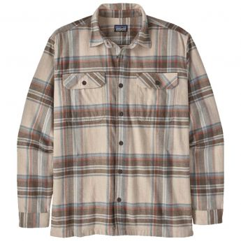 Patagonia Long Sleeve Cotton Midweight Fjord Flannel Shirt - Men's