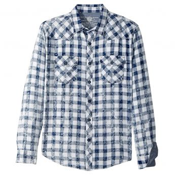 True Grit Bluewater Plaid Shirt - Men's