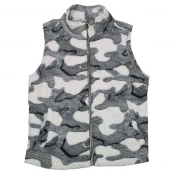 Dylan Soft Camo Fleece Vest - Women's