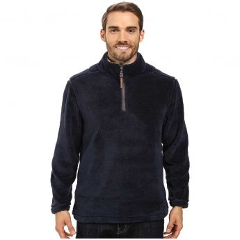 True Grit Pebble Pile Quarter-Zip Pullover - Men's