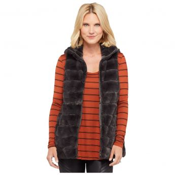Dylan Long Fur Love Vest - Women's