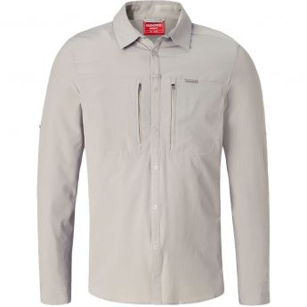 Craghoppers Nosilife Pro III Long-Sleeve Shirt- Men's