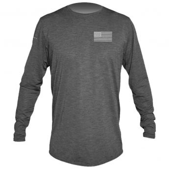 Anetik Low Pro Tech Long Sleeve Flag Tee - Men's