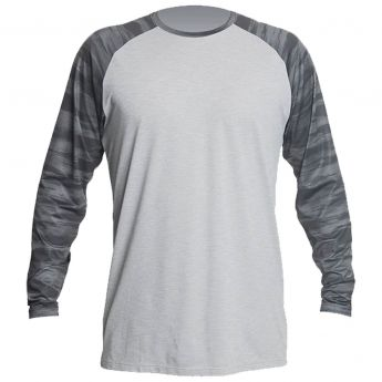 Anetik Remix Raglan Tech Long Sleeve Shirt - Men's