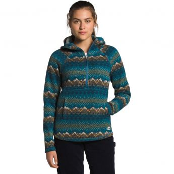 The North Face Printed Crescent Hooded Pullover - Women's