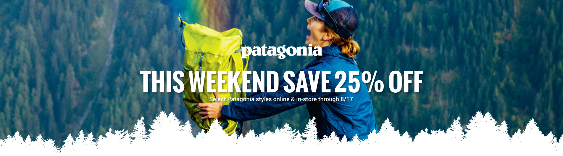 Save up to 30% OFF prior season styles from Patagonia for a limited time