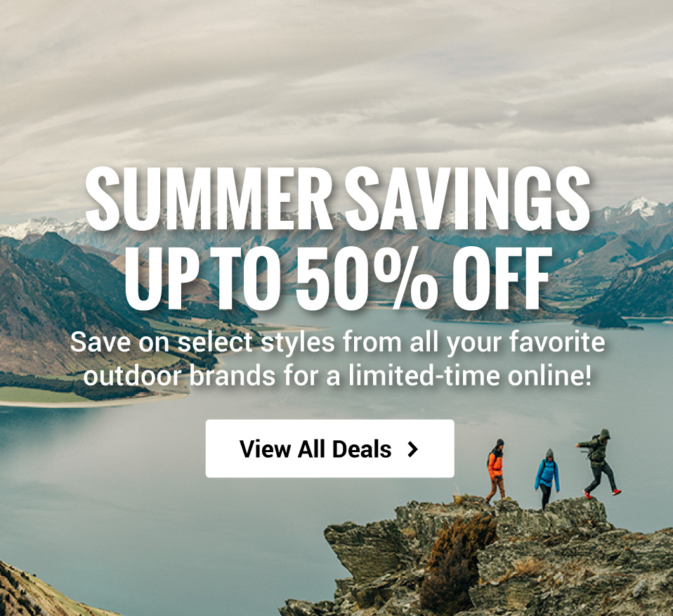 Summer Savings! Save up to 50% OFF select styles for a limited-time online!